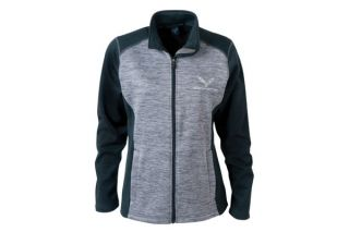 C7 Corvette Tonal Ladies' Newbury Full Zip Fleece Jacket