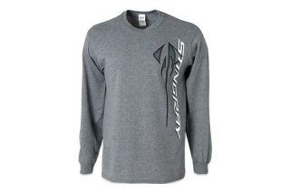 Corvette Stingray Vertical Long Sleeve T-Shirt