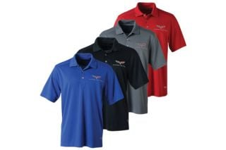 Men's C6 Corvette Callaway Dry Core Polo
