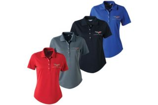 Ladies' C6 Corvette Callaway Dry Core Polo