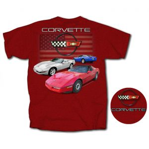 C4 Corvette American Cherry T-shirt