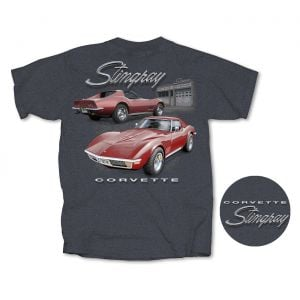 Stingray Garage Heather Gray T-shirt