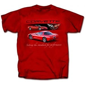 C5 Corvette Red T-shirt