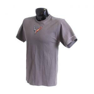 Next Generation Corvette Carbon Badge Tee