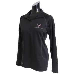 Ladies Next Generation Corvette Eddie Bauer 1/2 Zip Pullover