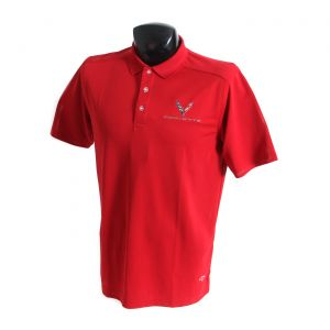 2020 Corvette Callaway Dry Core Polo Shirt