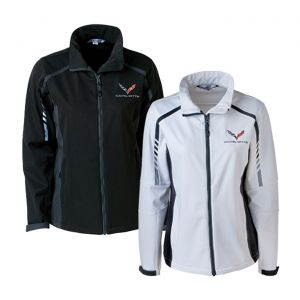 Ladies C7 Corvette Embark Soft Shell Jacket