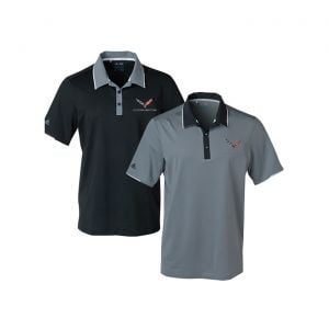 C7 Corvette Adidas Performance Colorblock Polo