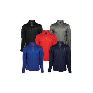 Men's 2020 Corvette Under Armour Qualifier Quarter Zip Jacket