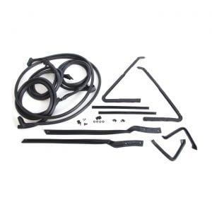 63 Conv Deluxe Body Weatherstrip Kit