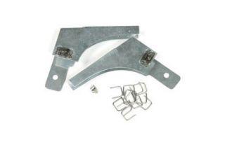 1963 Corvette Door Glass Rear Channel Corner Reinforcement
