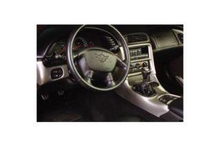 1997-2004 Corvette 5pc ABS Molded Console Trim Kit (Dash & Door)