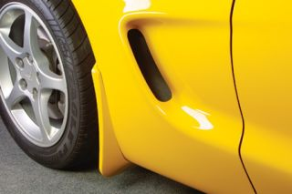 1997-2004 Corvette Altec Rear Splash Guards (Colors)