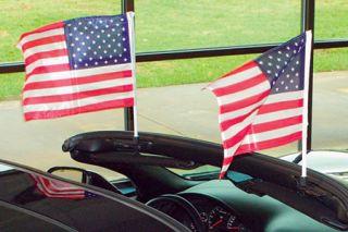 1963-1967 Conv & 1968-1982 Corvette Flag Caddie