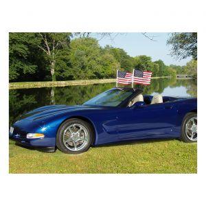 1997-2004 Corvette Flag Caddie