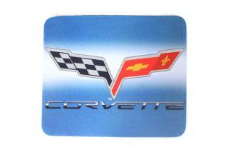 C6 Emblem Mouse Pad