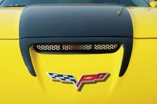 2006-2013 Corvette Z06/GS Stainless Front Bumper/Hood Insert