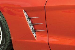 2005-2013 Corvette Stainless Side Spears (6pc)