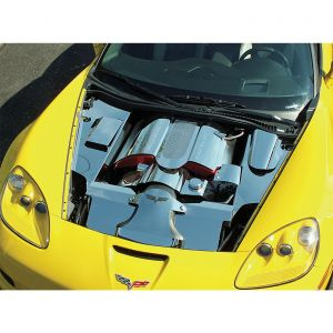 2006-2013 Corvette LS7 Stainless 4pc Inner Fender Covers