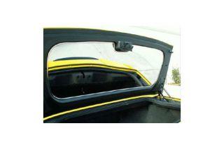2005-2013 Corvette Conv Trunk Lid Interior Stainless Panel