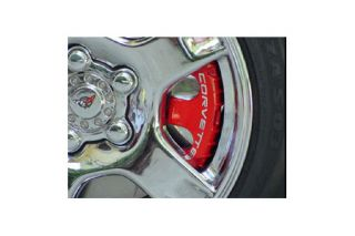 1997-2004 Corvette 4pc Stainless Brake Pad Covers