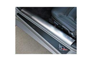 1997-2004 Corvette Stainless Inner Door Sills
