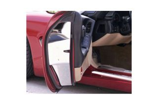 1997-2004 Corvette Polished Stainless Door Jam Covers