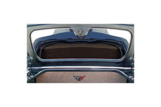1997-2004 Corvette Polished Stainless Convertible Trunk Lid