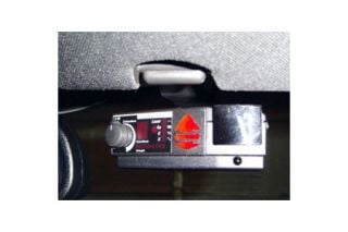 2005-2013 Corvette Visor Radar Bracket (Escort/Passport/Bell)