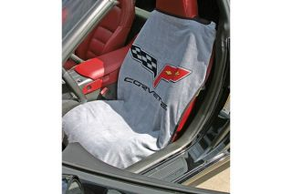 05-13 Seat Armour Cover w/C6 Emblem