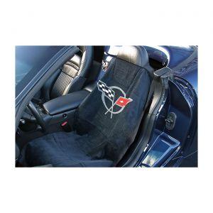 97-04 Seat Armour Cover w/C5 Emblem