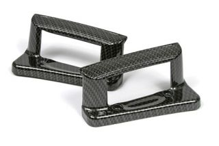 2005-2013 Corvette Carbon Fiber Door Handle Covers