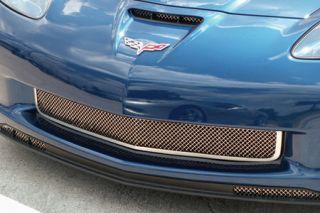 2006-2013 Corvette Z06/GS Laser Mesh Stainless Grill