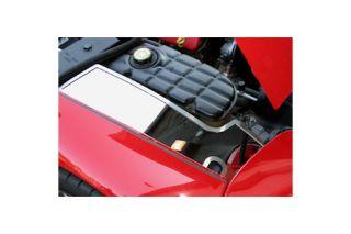 1997-2004 Corvette Polished Stainless Inner Fender Accent Plates