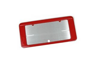 2005-2013 Corvette Altec Colored Rear License Plate Frame