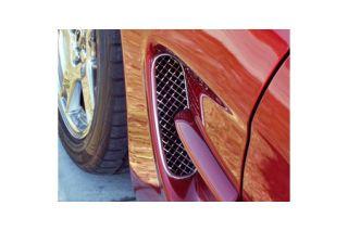 1997-2004 Corvette Laser Mesh Stainless Side Fender Grills