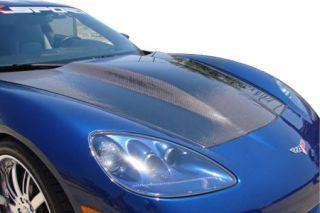 2005-2013 Corvette RK Sport Carbon Fiber Supercharger Hood