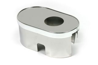 2009-2013 Corvette Stainless Master Cylinder Cover w/Cap