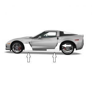 2006-2013 Corvette Z06/GS Cleartastic PLUS Protection (w/o GM Badge)