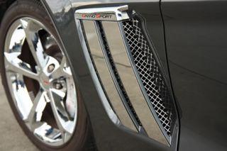 2010-2013 Corvette GrandSport Side Fender Trim Plates