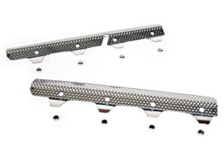 2005-2013 Corvette Perforated Stainless Exhaust Header Guards
