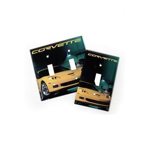 C6 Corvette Switch Plate Cover
