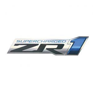ZR1 Corvette Front Emblem Metal Sign