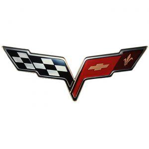 C6 Corvette Front Emblem Metal Sign