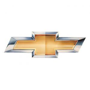 Chevrolet Gold Bowtie Metal Sign