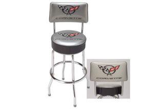 C5 Corvette Counter Stool  w/Backrest