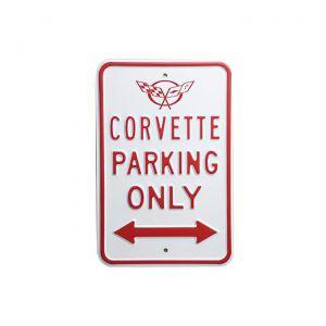 C5 Corvette Parking Sign