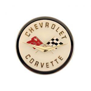 1958-1962 Corvette Emblem Metal Sign
