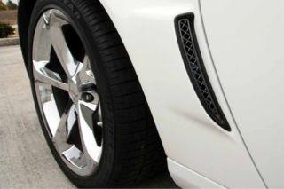 2006-2013 Corvette Z06/GS Blakk Stealth Laser Mesh Rear Fender Vent Grills