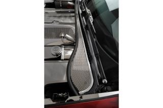 1997-2004 Corvette Perforated Stainless Wiper Cowl Insert